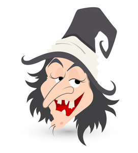 Cunning Witch Vector