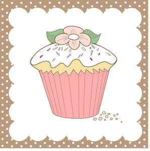 Cupcake Doodle-