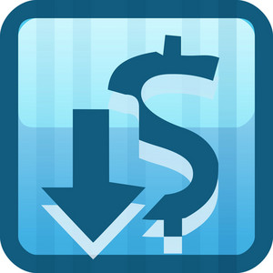 Currency Blue Tiny App Icon