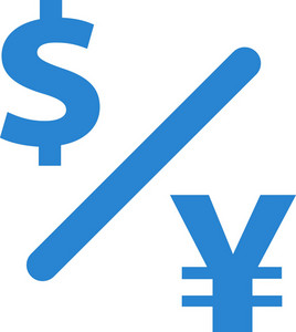 Currency Exchange Simplicity Icon