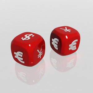 Currency Symbols Dice