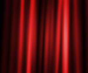 Curtain Photographic Backdrop