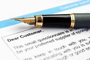 Customer Letter