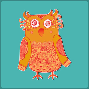 Cute Decorative Owl