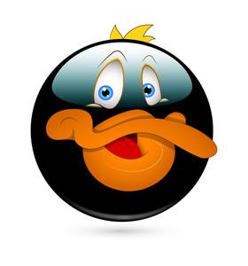 Cute Duck Smiley