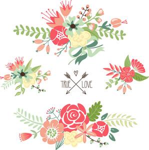 Carino Bouquet di fiori