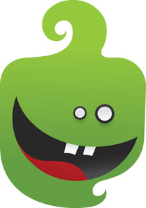 Cute Monsters Vector Element