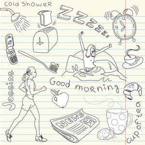 Cute Morning Doodles