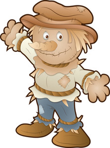 Cute Scarecrow - Cartoon Character