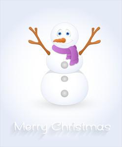 Cute Snowman Smile