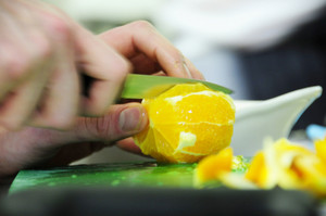 Cutting Orange