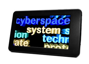Cyberspace Concept