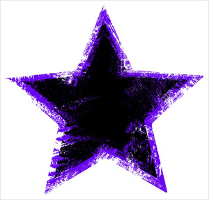 Damage Urban Star Shape   Grunge Vector Illustration Background