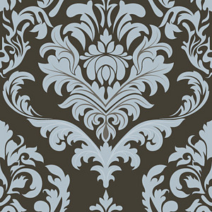Damask Floral Backdrop