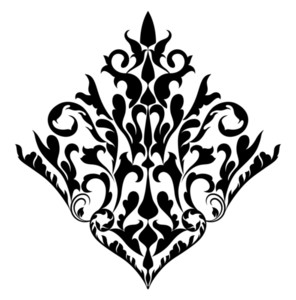 Damask Flourish Design