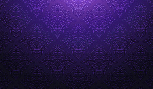 Damask Wallpaper Vector Illustration