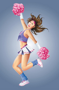 Dancing Cheerleader