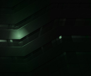 Dark Abstract Green Backgroud