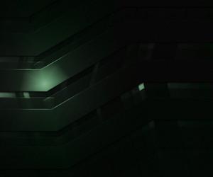 Dark Abstract Green Backgroud