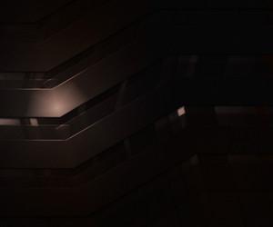 Dark Abstract Orange Backgroud