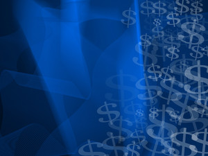 Dark Blue Finance Background