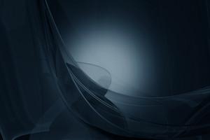 Dark Blue Glassy Background