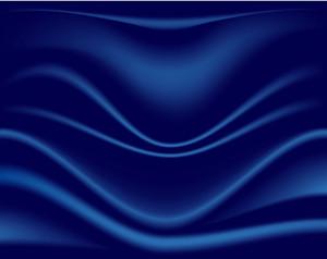 Dark Blue Silk