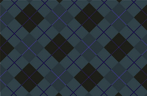 Dark Blue Tartan