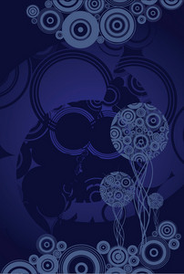 Dark Blue Vector Art