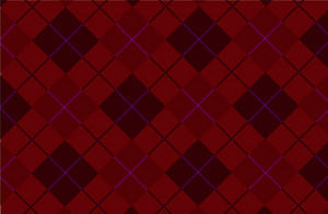 Dark Brown Vector Tartan