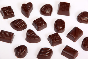 Dark Chocolate Pralines