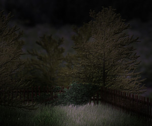 Dark Garden Premade Background
