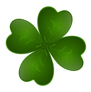 Dark Green Shamrock
