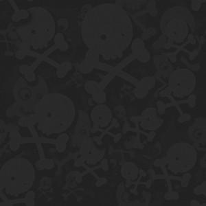 Dark Halloween Skulls Background