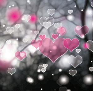 Dark Hearts Background