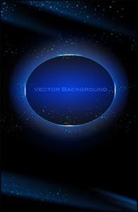 Dark Laser Blue Background
