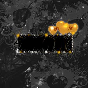 Dark Love Banner Background