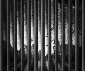 Dark Prison Cell Background