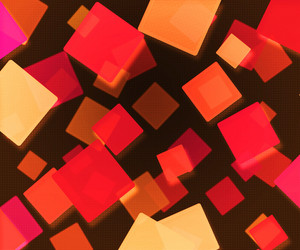 Dark Red Abstract Squares Background