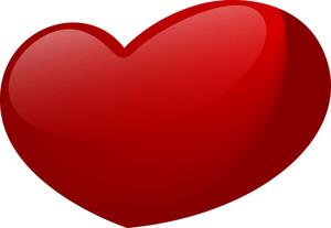 Dark Red Heart