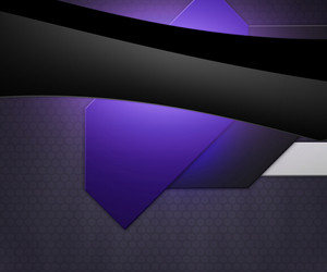 Dark Shapes Violet Background