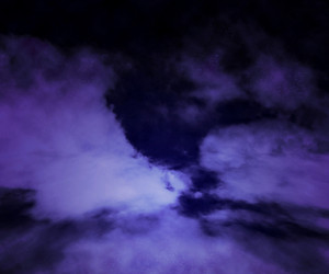 Dark Sky Cloud Stage Background