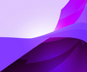 Dark Violet Abstract Shapes Background