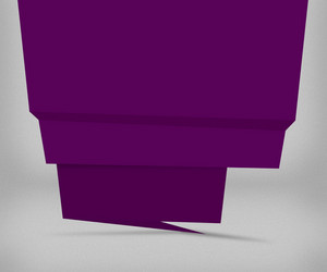 Dark Violet Origami Background