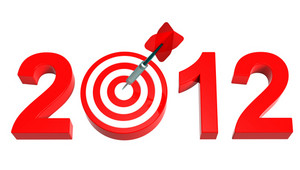 Dart Hitting Target - New Year 2012