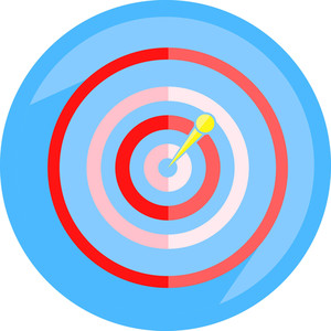 Dartboard Arrow Icon