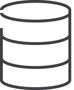 Data 1 Minimal Icon