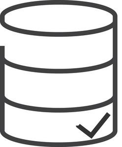 Data 3 Minimal Icon