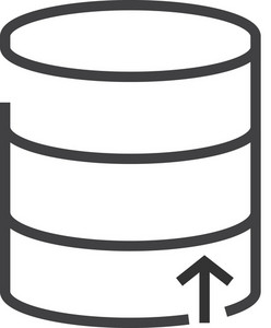 Data 6 Minimal Icon
