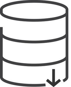 Data 7 Minimal Icon